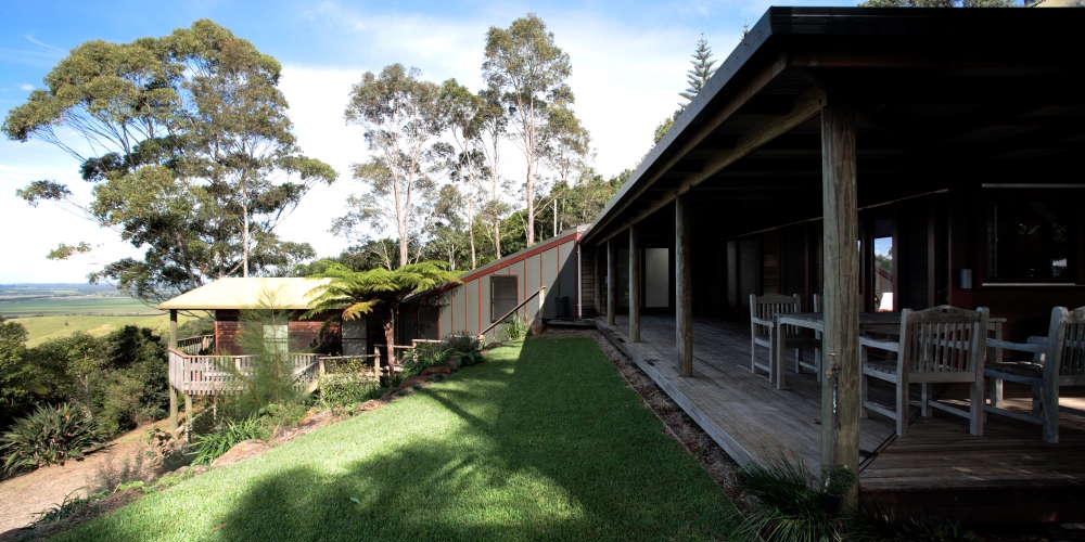 Newrybarhouse byron bay hinterland house for holiday rental